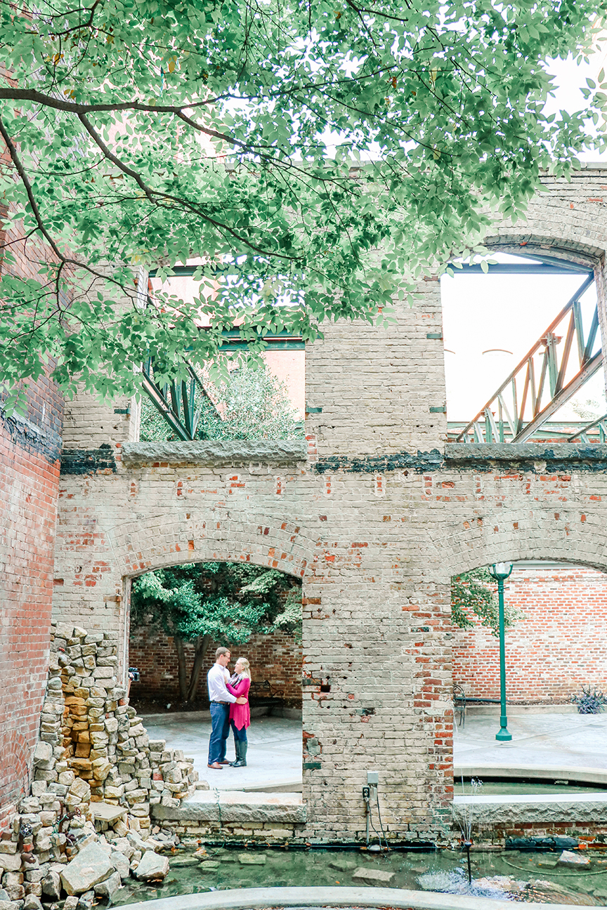 Richmond Fall Engagement - Tobacco Row