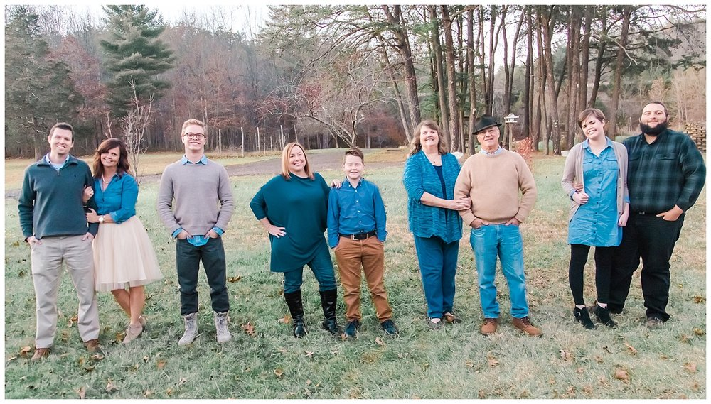 Family Portraits in Covington, Virginia