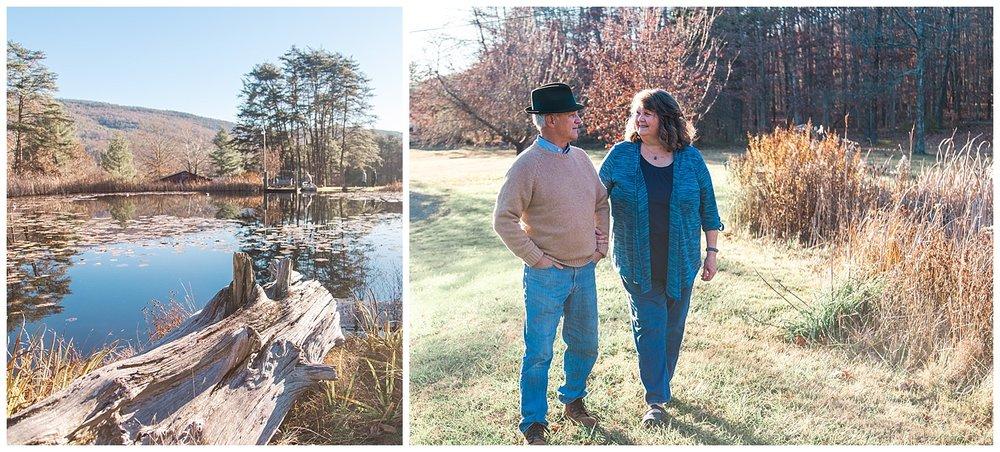 Fine Art Couple Portraits in Covington, Virginia