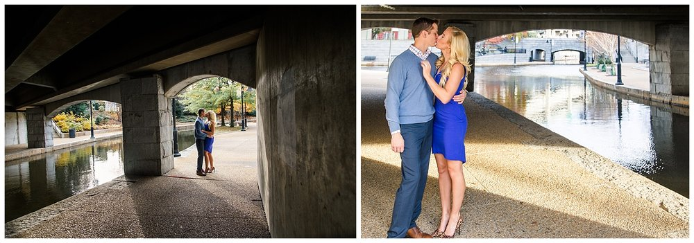 Richmond Canal Walk Engagement Pictures - Shockoe Bottom