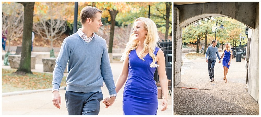 Richmond Canal Walk Engagement Photos - Shockoe Bottom