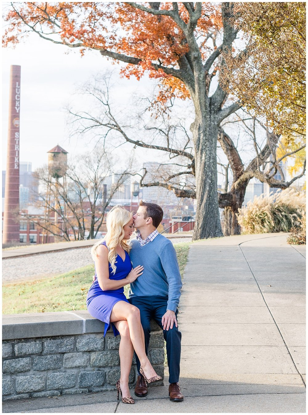 Church Hill Engagement Photos, Richmond VA - Libby Hill Park