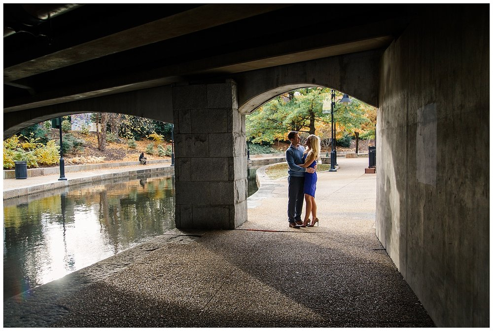 Richmond Canal Walk Engagement Photos