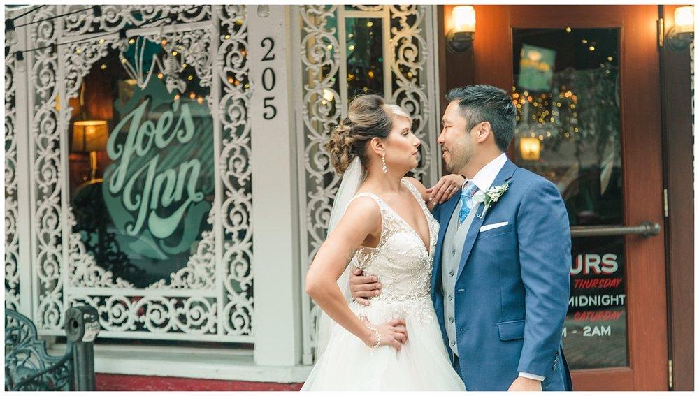 Wedding First Look - Joe's Inn
