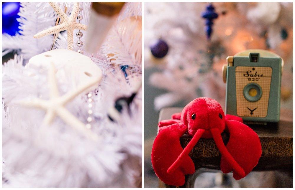 Coastal Christmas Decor - Lobster