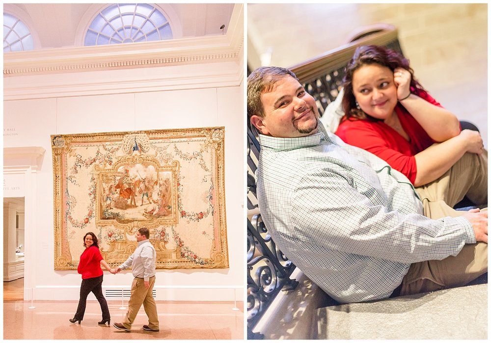 VMFA engagement photos - Richmond, Virginia