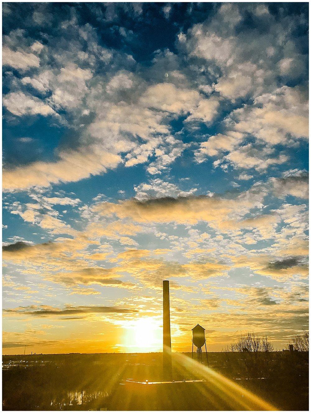 Sunset at Libby Park - Church Hill - Richmond, VA