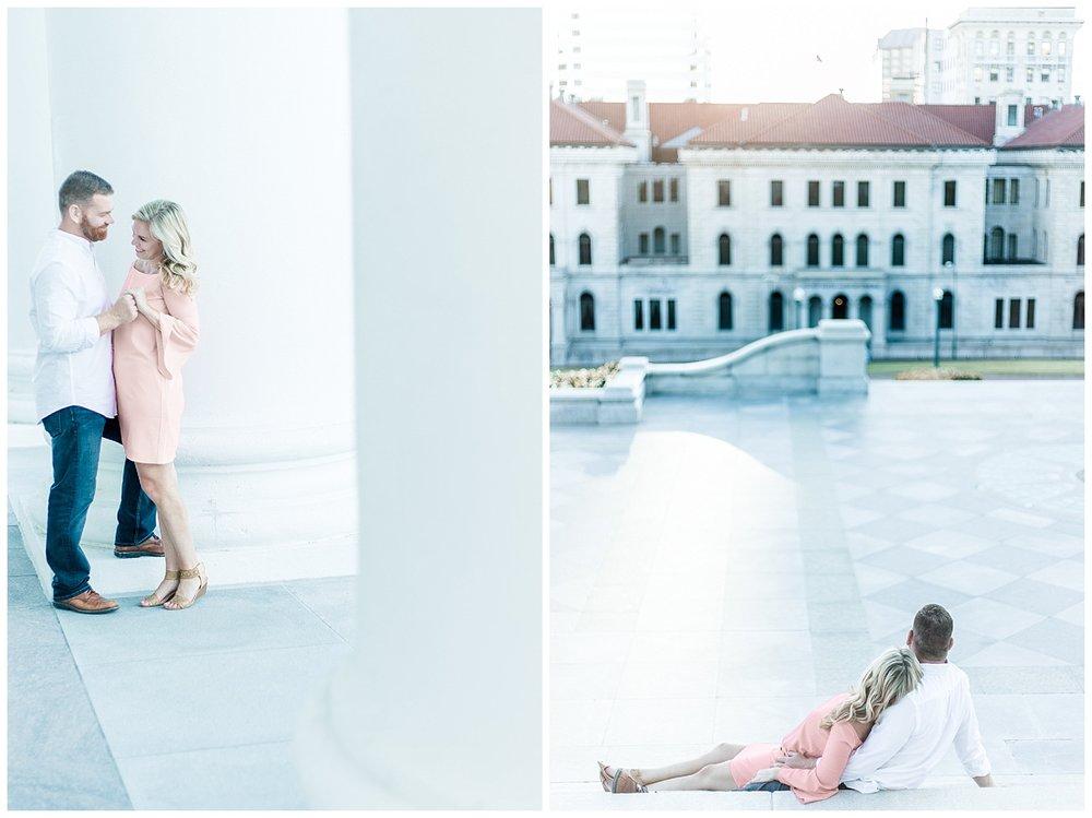 Richmond Engagement Photo Ideas - The Capitol