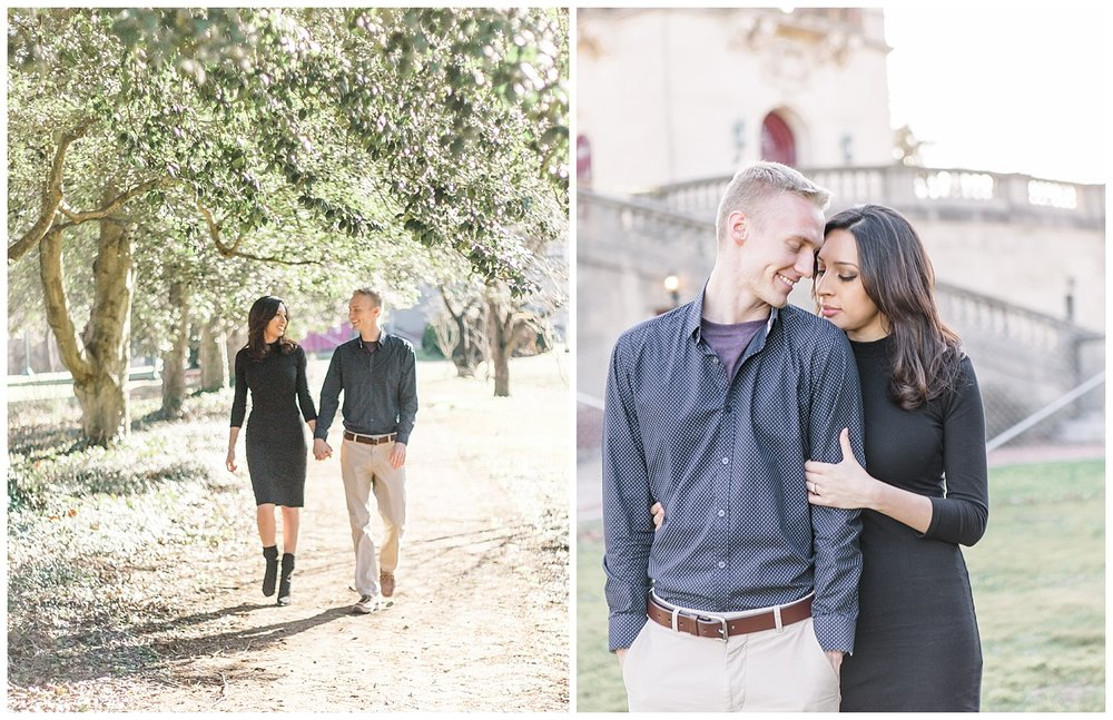 Richmond Engagement Photos - Byrd Park & The Carillon
