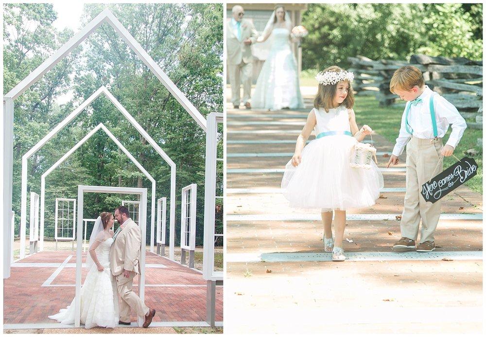 Richmond Wedding Photos - Historic Polegreen Church