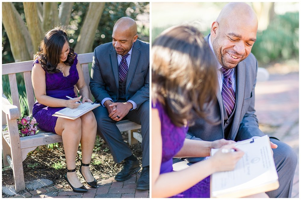 Virginia wedding photography - College of William & Mary