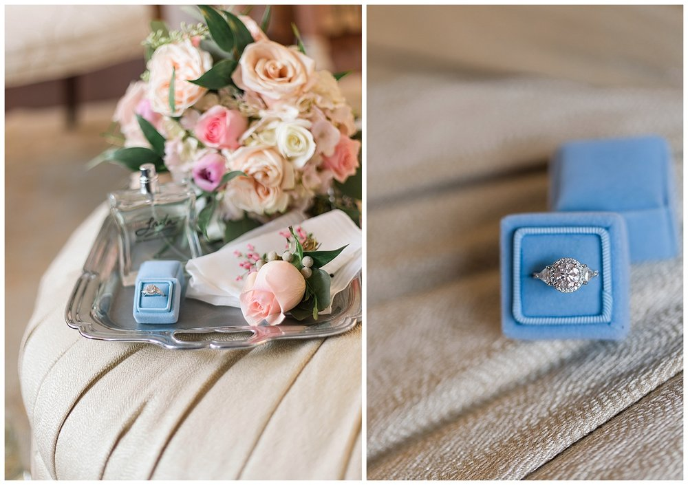 Virginia wedding at Upper Shirley Vineyards - Bridal Details
