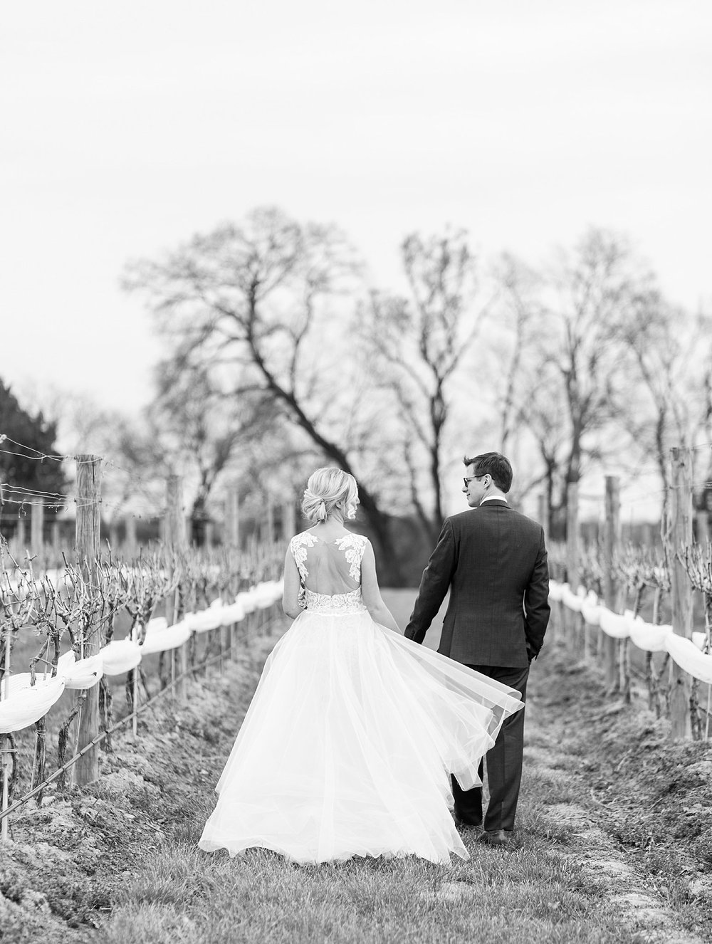 Virginia wedding at Upper Shirley Vineyards - Meghan + Jim