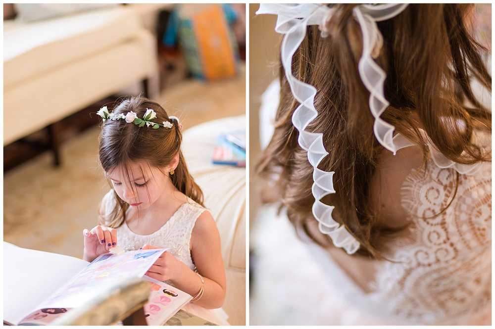 Upper Shirley Wedding Photographer - flower girl
