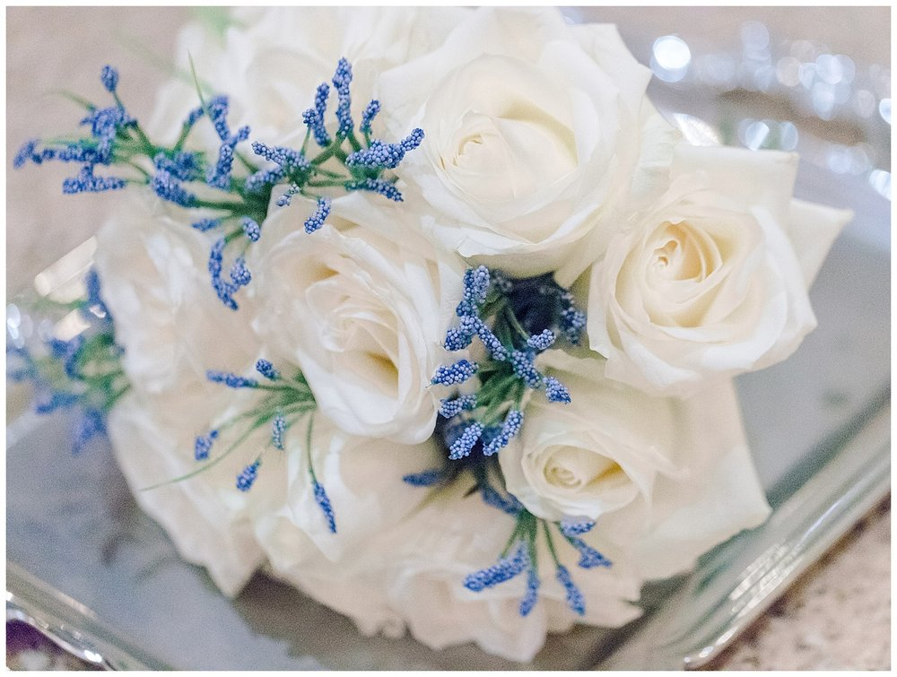 Boathouse at Sunday Park Wedding - Bouquet