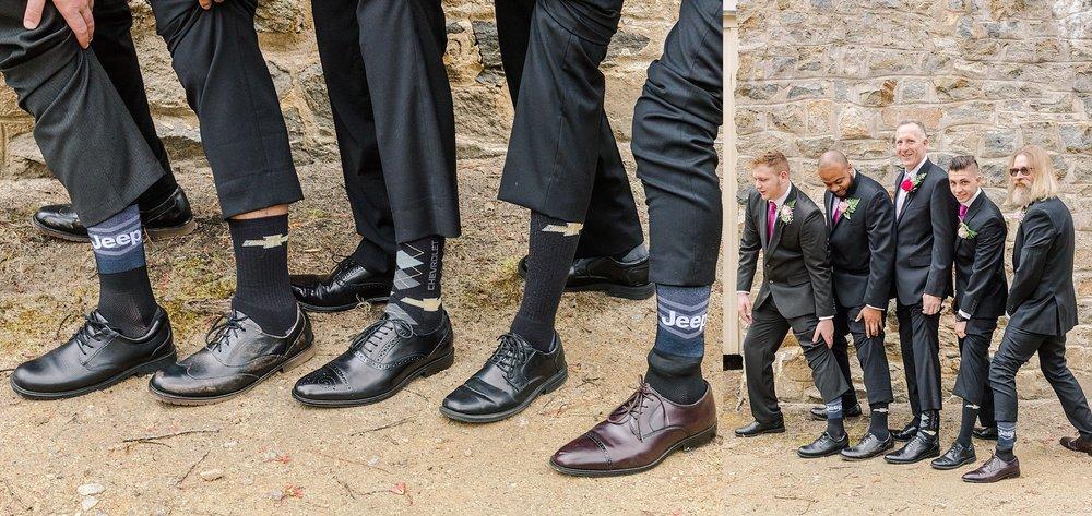 Chesterfield Wedding - Groomsmen