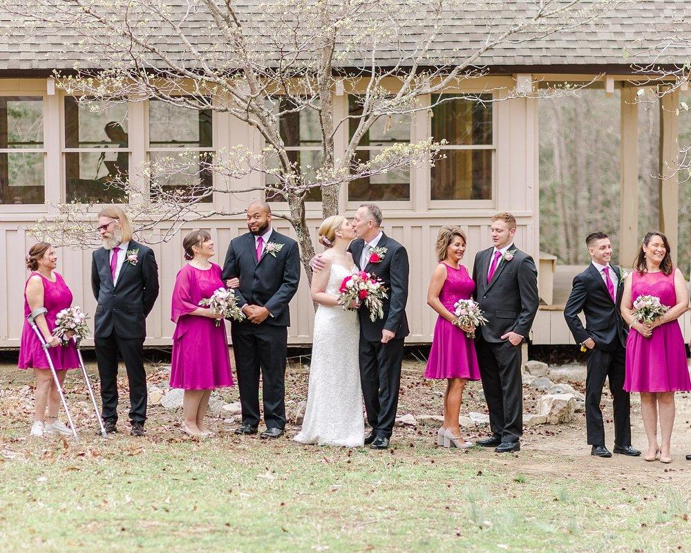 Rustic Virginia Wedding at Pocahontas State Park