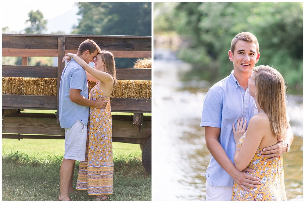 Virginia Engagement at Bold Rock Cidery