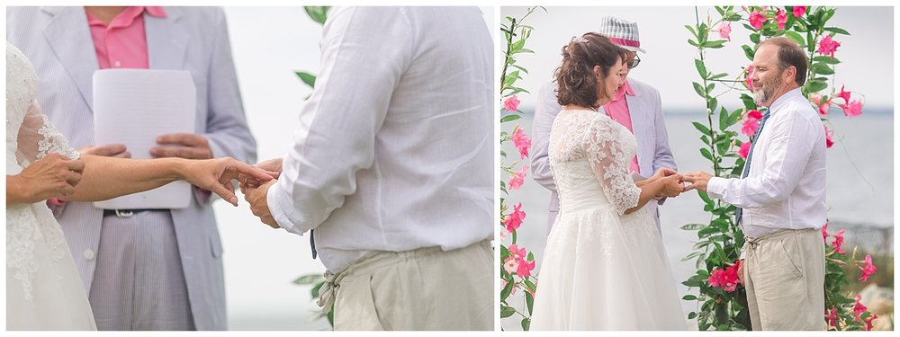 Deltaville Wedding by the Water - Joni + Ken