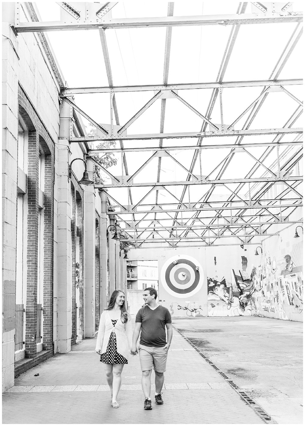 Richmond Engagement Session at Tredegar Ironworks and Brown's Island - Morgan + Kevin