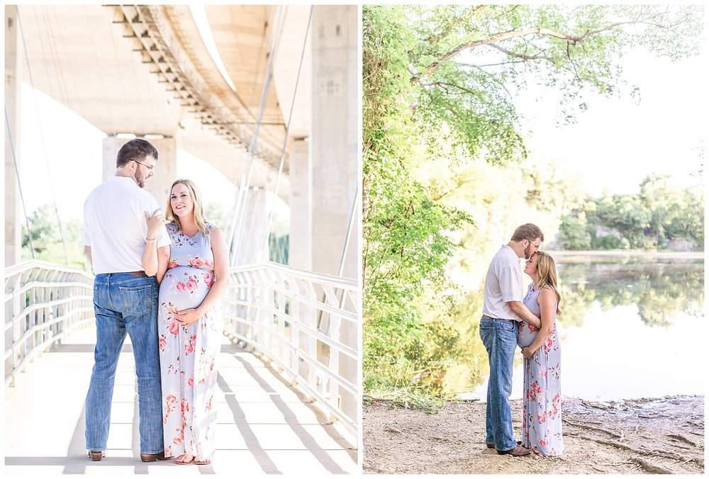 Richmond Maternity Photography - Belle Island - Stacie + Justin
