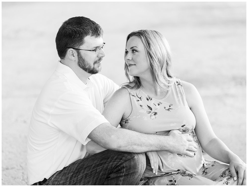Belle Isle Maternity Portraits - Richmond, VA - Stacie + Justin
