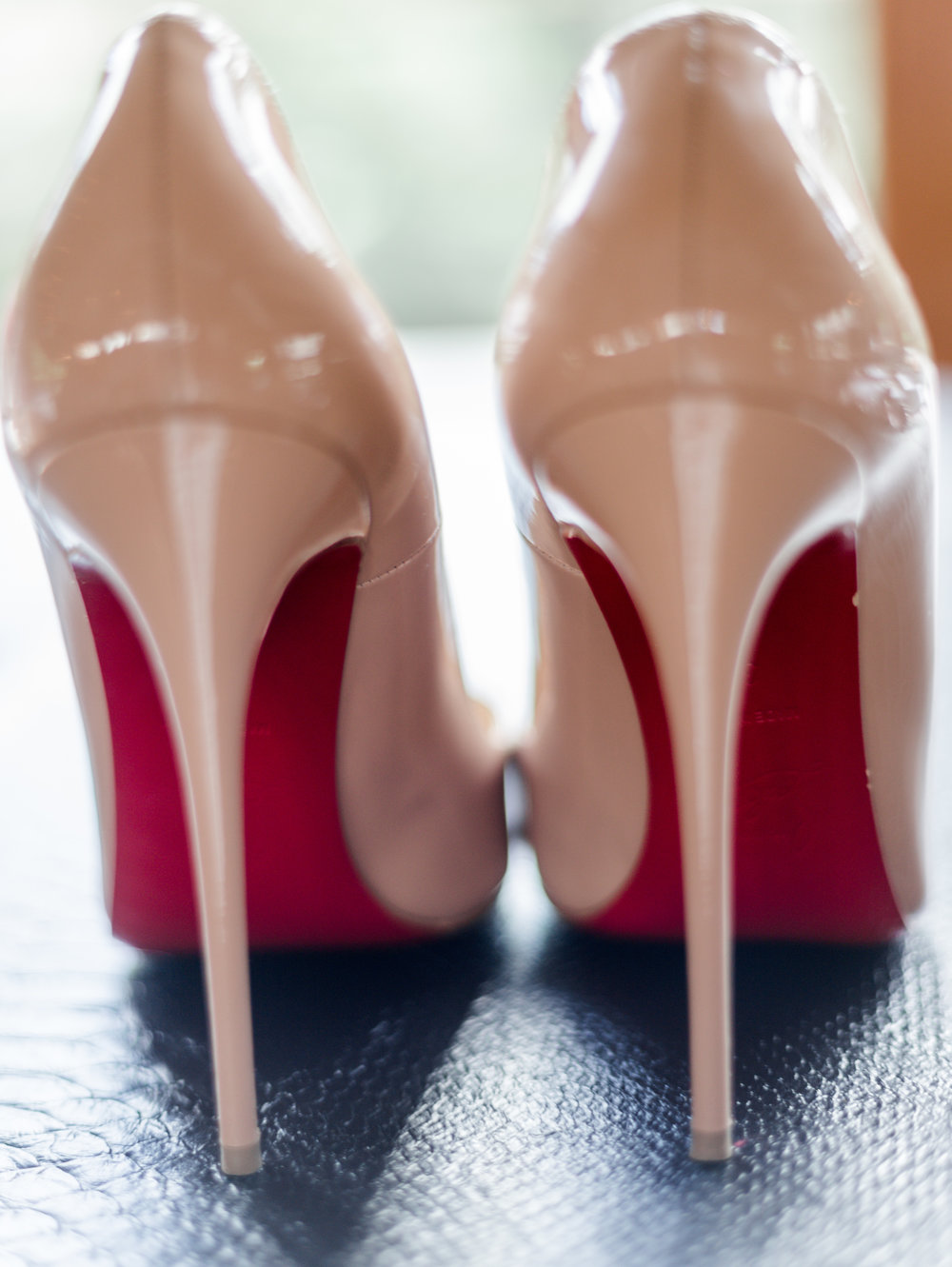 Ashton Creek Vineyard Wedding Shoot - Louboutin shoes