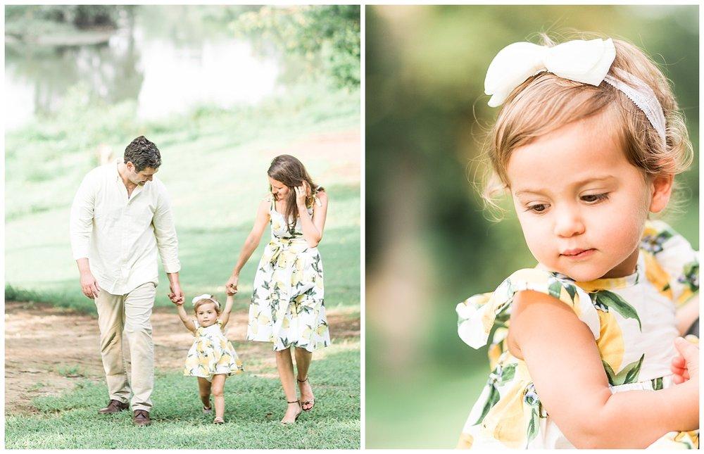 Bryan Park Richmond Family Photos - Marissa + Albie