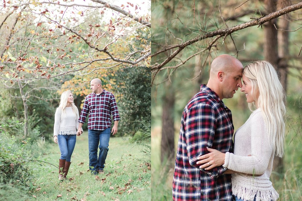 Richmond Fall Engagement Session - Mid-lothian Mines Park