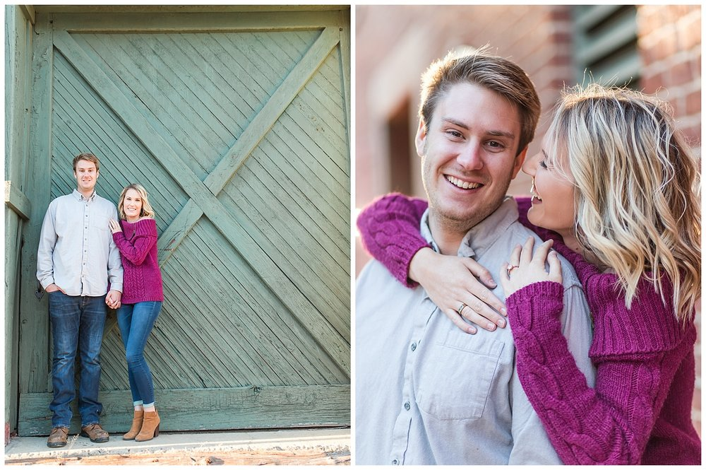 Colonial Heights Engagement Photos - Virginia Wedding Photographer - Danielle + Taylor