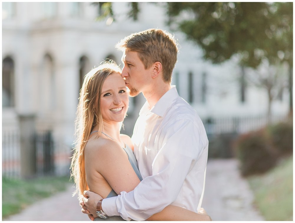 Virginia State Capitol Engagement - Richmond Wedding Photographer