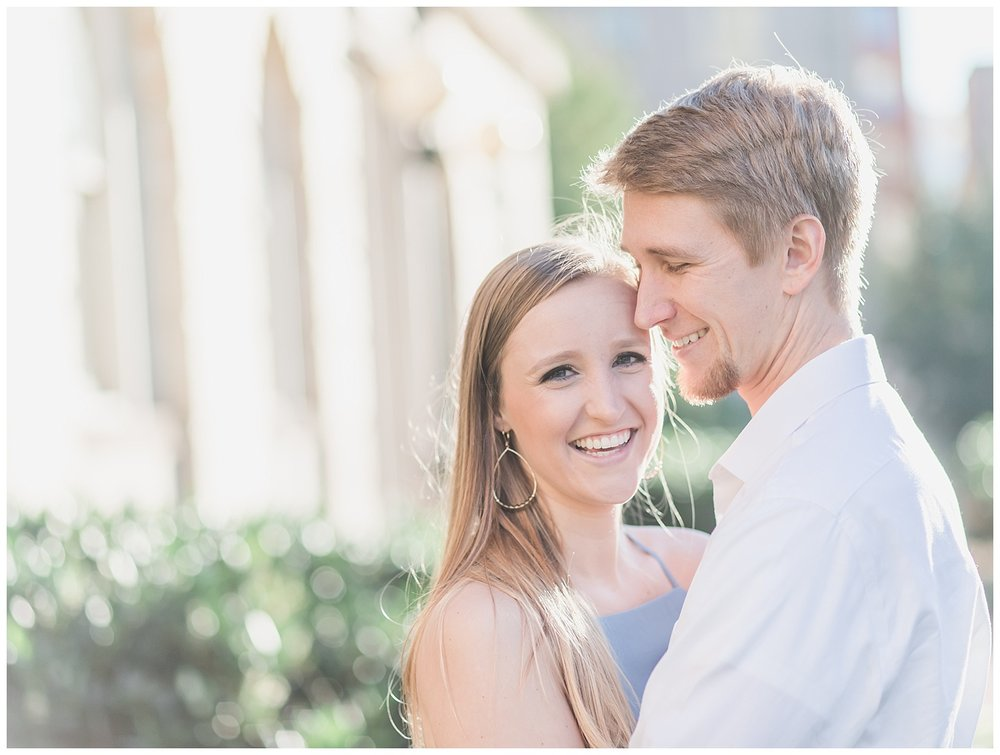 Virginia State Capitol Engagement - Abigail + Greg - Virginia Wedding Photographer