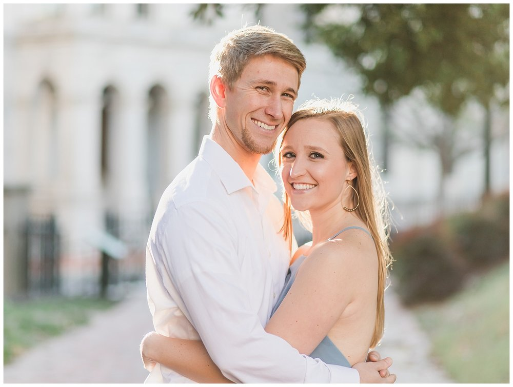 Virginia State Capitol Engagement - Abigail + Greg