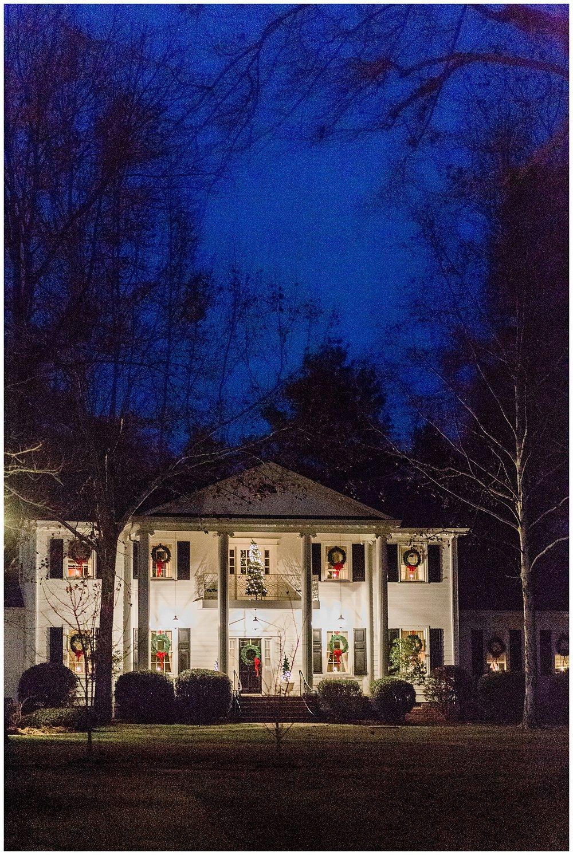 Virginia Cliffe Inn at Night - Virginia Wedding Photographer