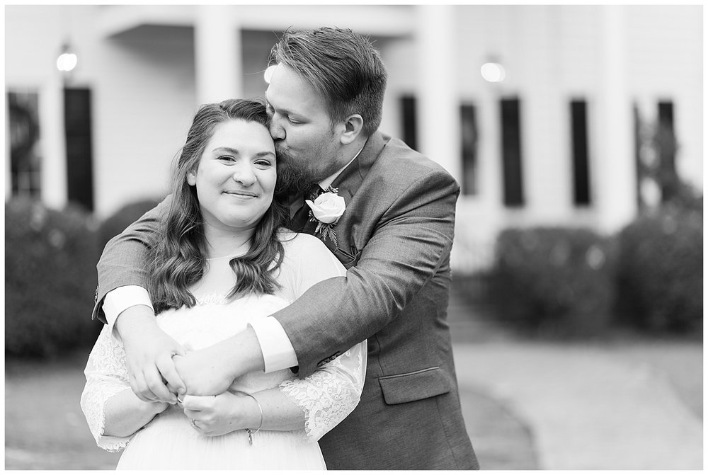 Virginia Cliffe Inn Wedding at Christmastime - Virginia Wedding Photographer