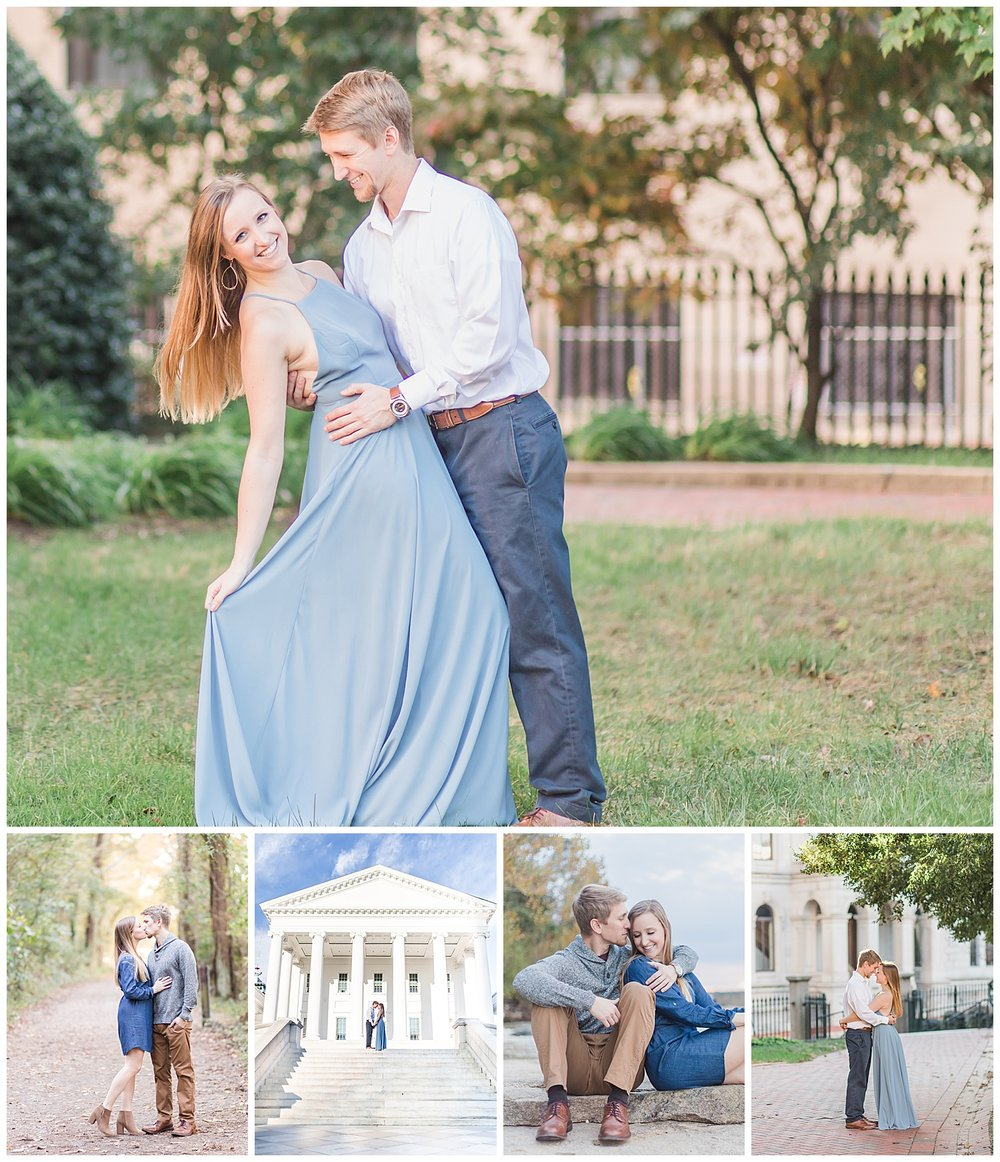 Belle Isle and Virginia State Capitol Engagement Session