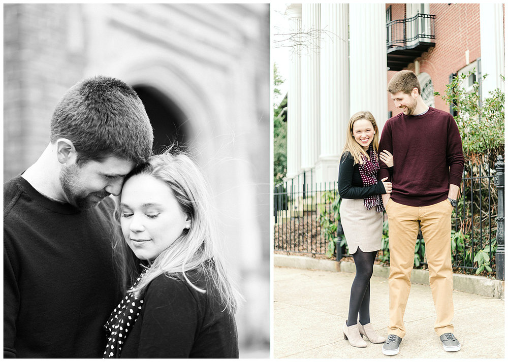 Branch Museum Engagement - Virginia Wedding Photographer