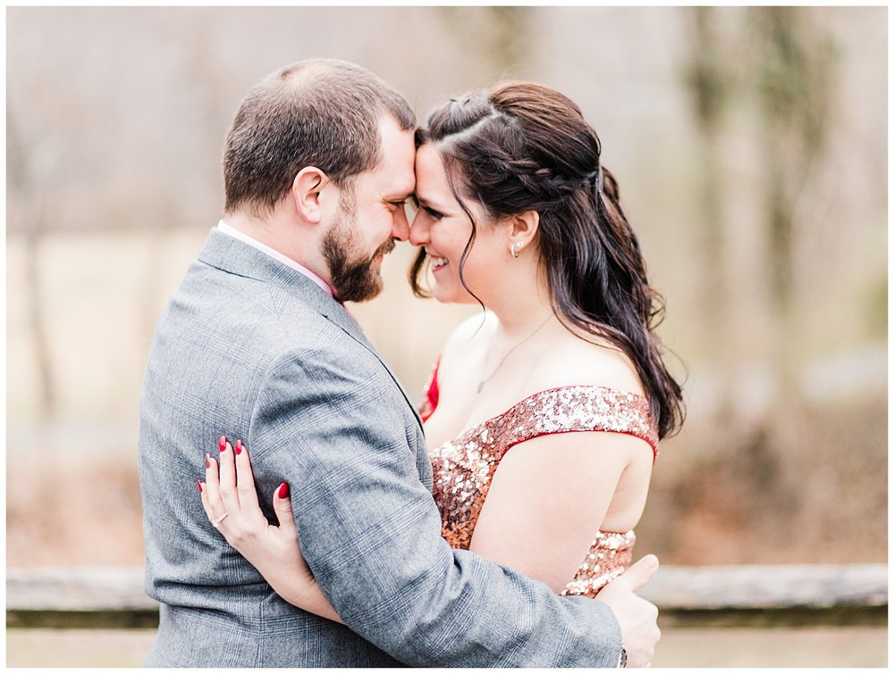 Alleghany Virginia Engagement Session - Jackson River Scenic Trail