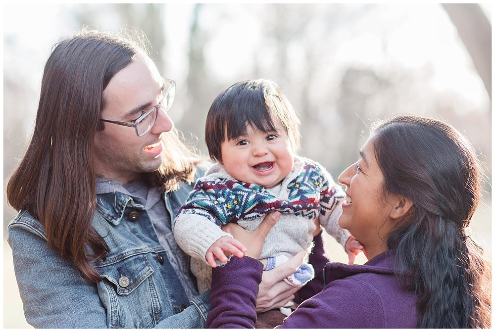 Family Photos at Byrd Park
