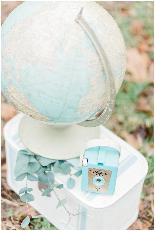 World Globe  Styled shoot - Virginia Wedding photographer