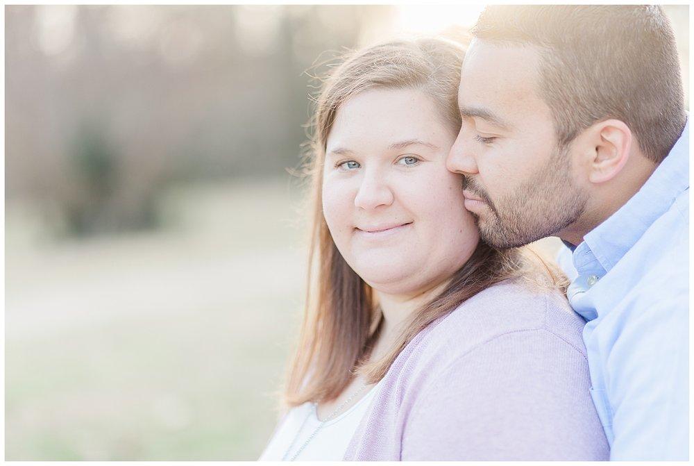 Byrd Park Couple Photography - Virginia Wedding Photographer