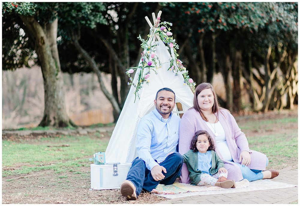 Byrd Park family photography
