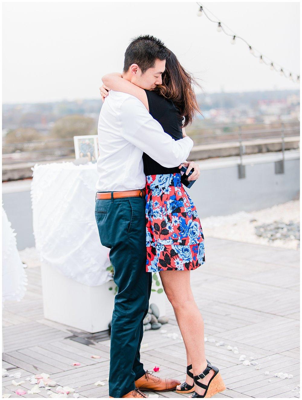 Quirk Hotel engagement session - Virginia Wedding Photographer
