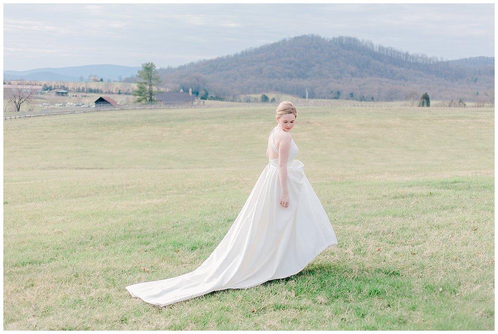 Early Mountain Wedding  First Look - Charlottesville, VA