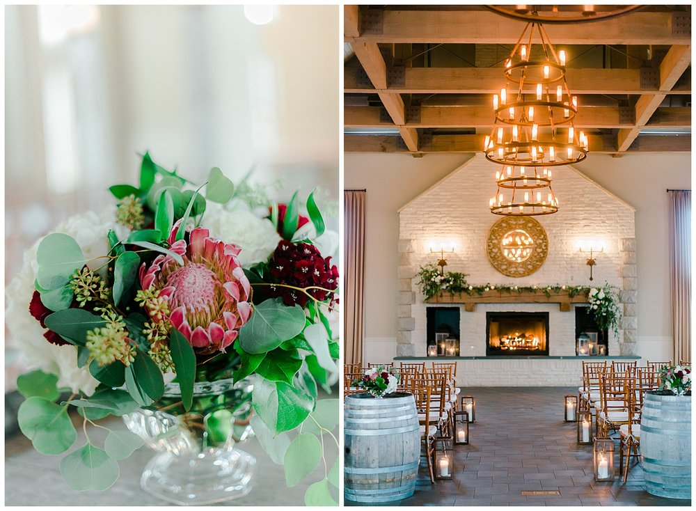 Early Mountain Vineyards Wedding Ceremony Details