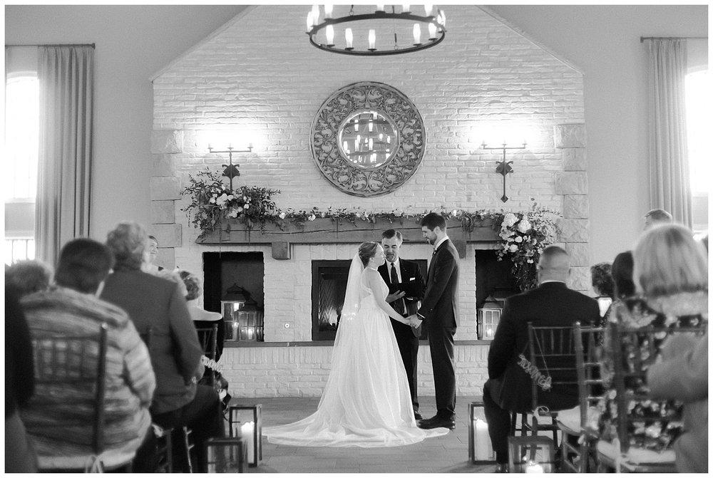 Early Mountain Vineyards Wedding Ceremony