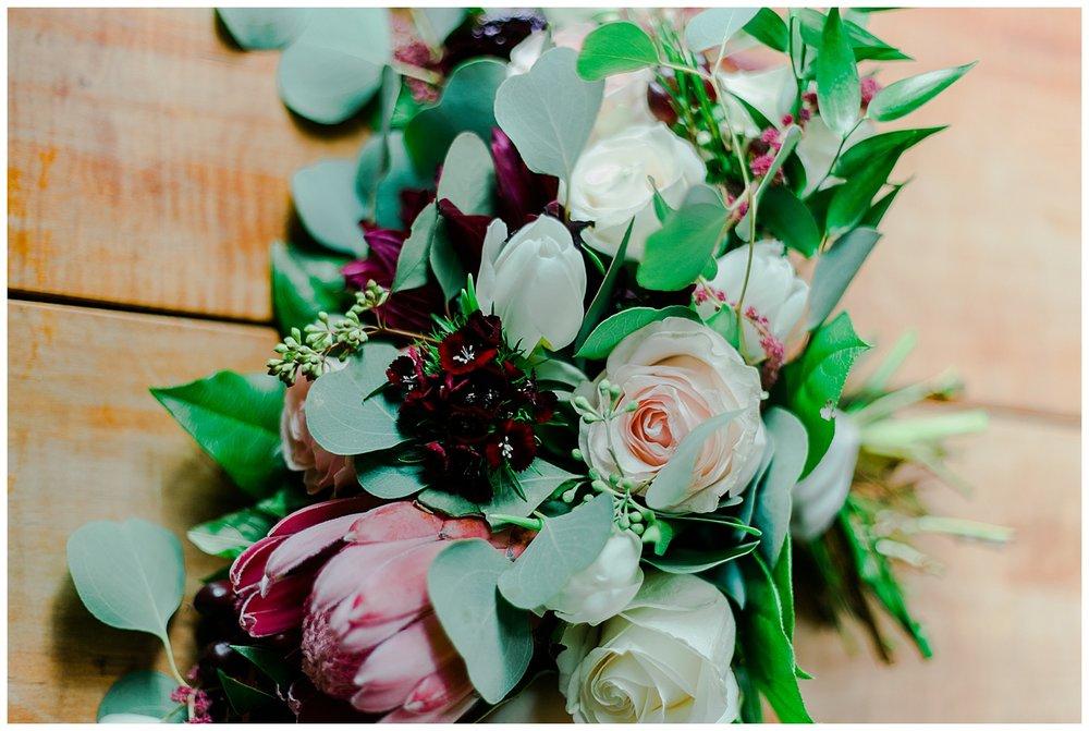 Early Mountain Vineyards Wedding Reception florals - Charlottesville, VA