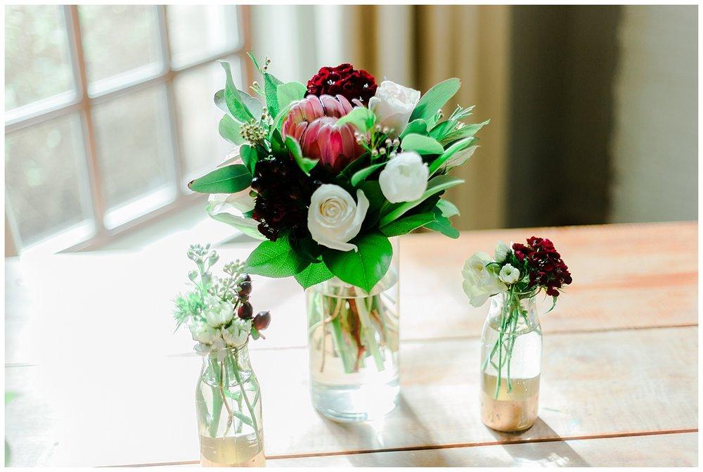 Early Mountain Vineyards Wedding Reception Details - Charlottesville, VA