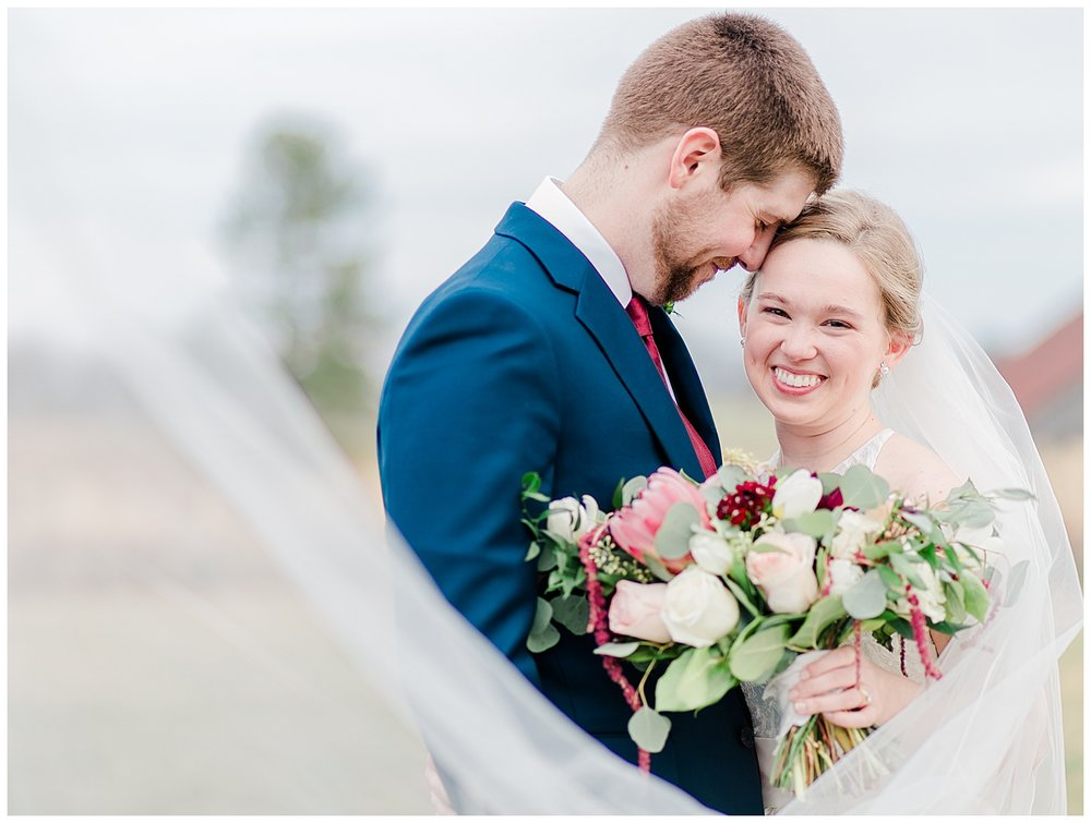 Early Mountain Vineyards Wedding in Spring - Christy + Tyler