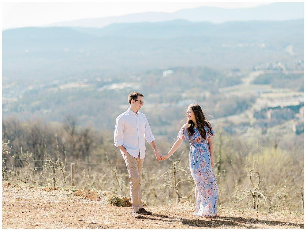 Carter Mountain Engagement Photography in Charlottesville, VA